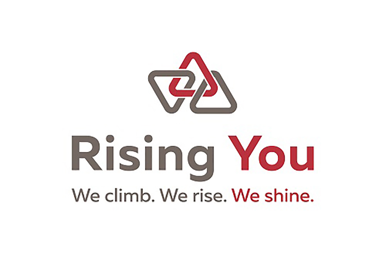 Rising you - we work out - logo